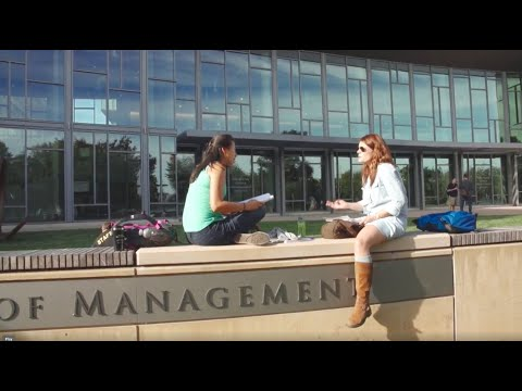 MIT Sloan School of Management -- Day in the Life of a Student