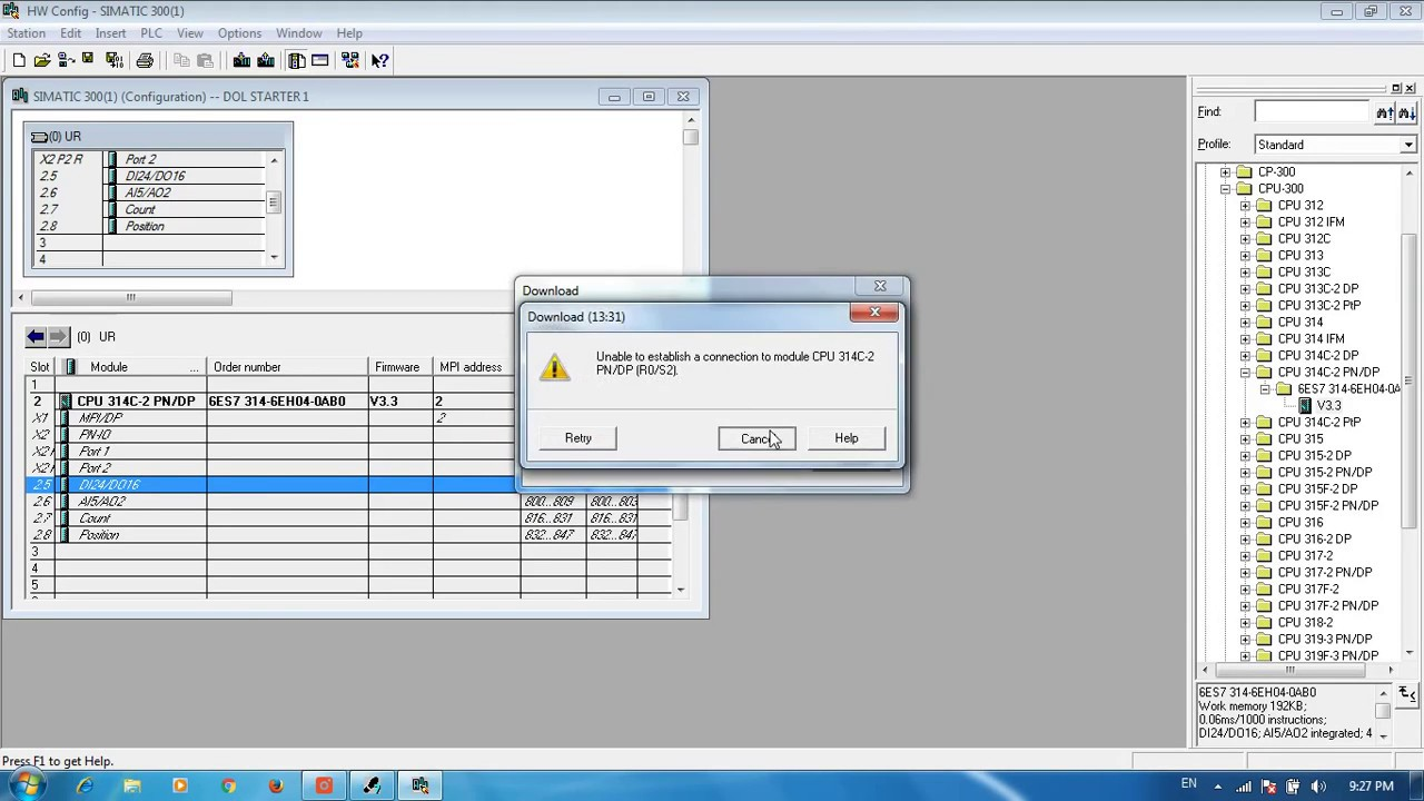 PLC programming for DOL motor starter - YouTube