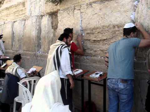 MURO DE LOS LAMENTOS JERUSALEM ISRAEL