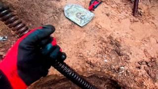видео Прочистка канализации