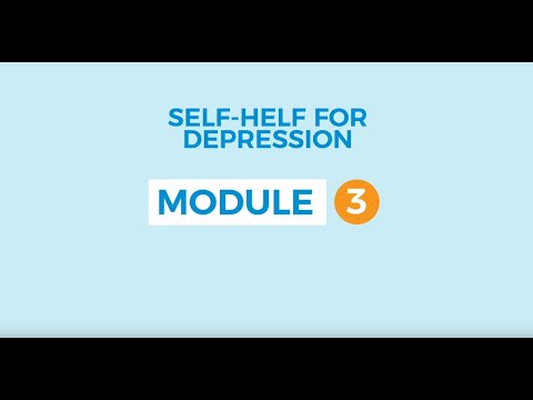 Self-help for depression 3: Registering mood and activities