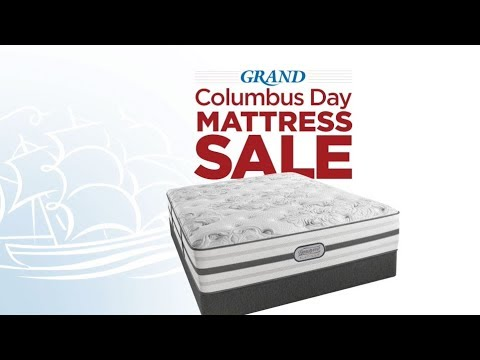 Columbus Day Mattress Sale - YouTube