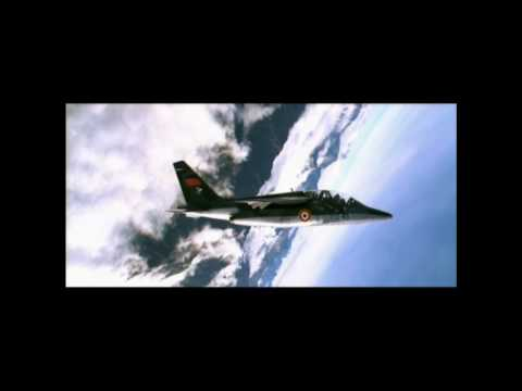 Reupload: French Dassault-Dornier Alpha Jet Flight