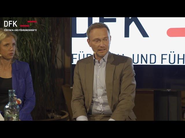 Haben die Eliten den Klimawandel verschlafen? Christian Lindner im Gespräch.