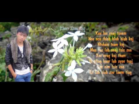 Hmong song karaoke - Koj mus nyob li cas lawm os tus neej kuv hlub es! thumbnail
