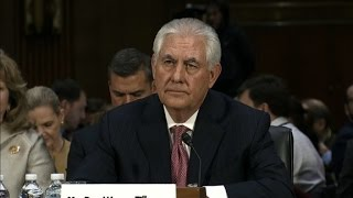 Tillerson: I haven't talked to Trump about Russia