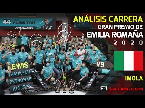 Análisis Carrera del GP de Emilia Romaña F1 2020 - Imola | Mercedes campeón por 7a ocasión