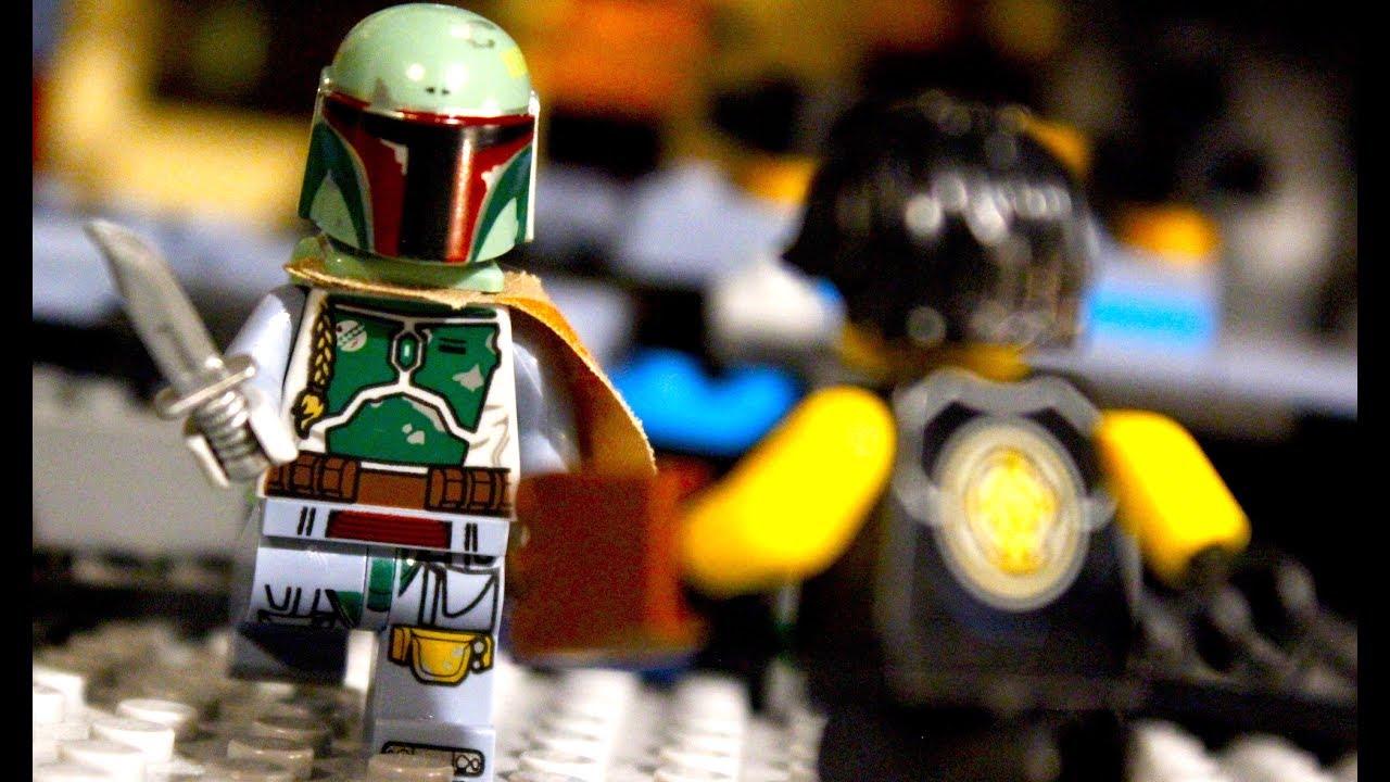 Lego star wars vs ninjago boba fett vs cole youtube - Ninjago vs ninjago ...