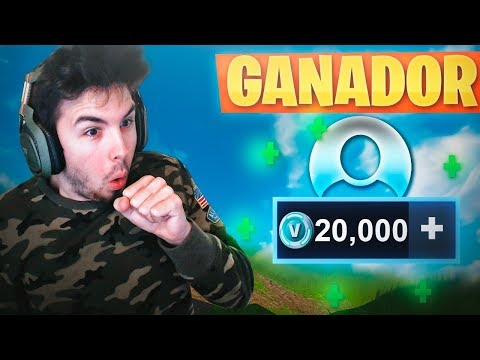 GANADORES del SORTEO +20.000 PAVOS! FORTNITE: Battle Royale #PavosWilly