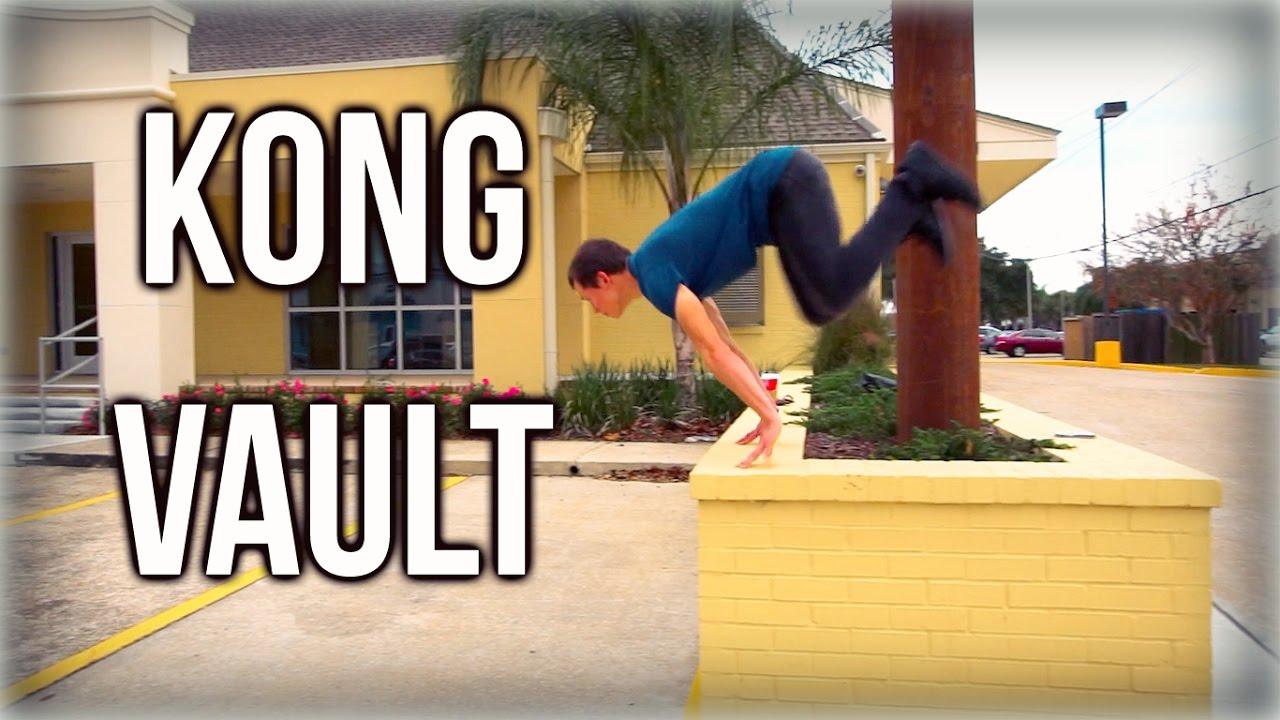 How to do a kong vault! Parkour vault tutorial! Youtube.