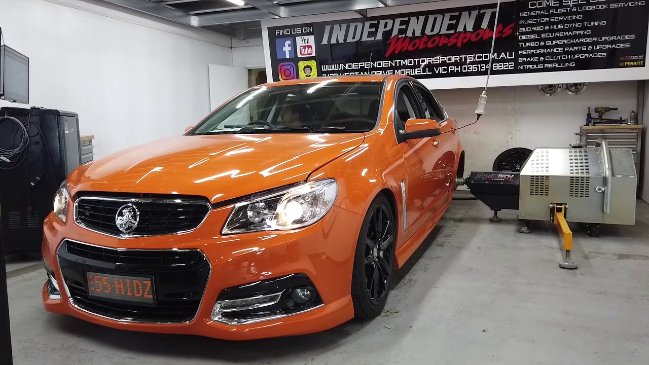 holden commodore vf performance