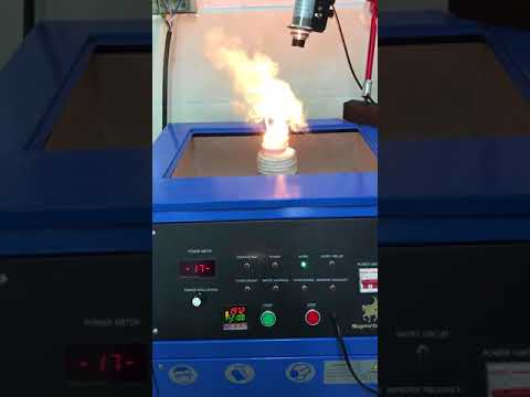 Over 2000℃ temperature control of Induction melting furnace for platinum and palladium