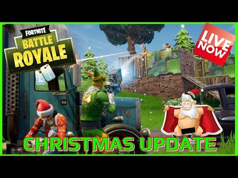 FORTNITE BATTLE ROYALE - 450 + WINS  - CHRISTMAS UPDATE LIVE - (PS4 PRO) Full HD