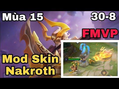 Mod Skin Nakroth Quán Quân ADC Mới Nhất | Mod Skin Liên Quân Mobile | Khắc Phục Lỗi 61% | KuL Gaming