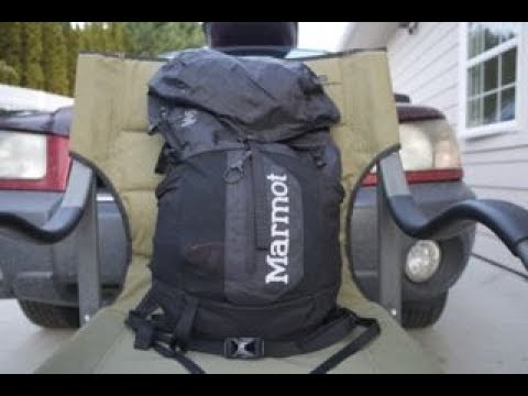 Ultralight Pack: Marmot Kompressor Plus 20L - YouTube