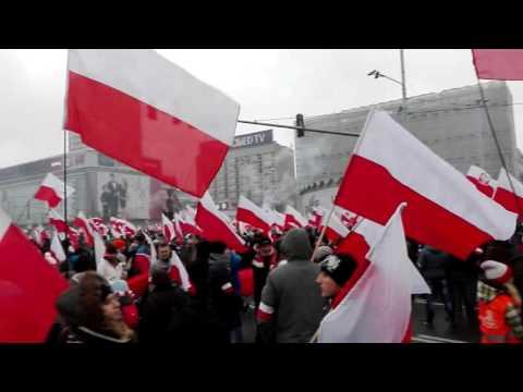 Marsz Niepodległości, National Independence Day,Unabhängigkeitstag - POLSKA 11.11.2016