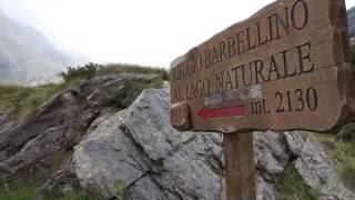 valbondione rifugio curò e rifugio barbellino + time-lapse