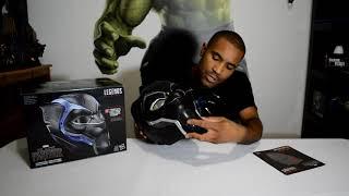 Black Panther Helmet Marvel Legend Series Unboxing