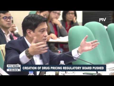 Creation of Drug Pricing Regulatory pushed