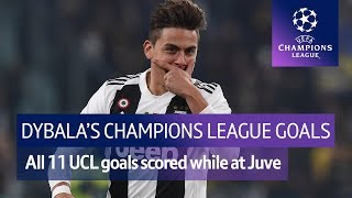 All of Paulo Dybala's Champions League goals | Long-range strikes and lethal finishing!