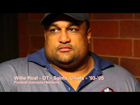 Football Gameplan Special - 2012 Pro Football Hall of Fame Interviews - Willie Roaf