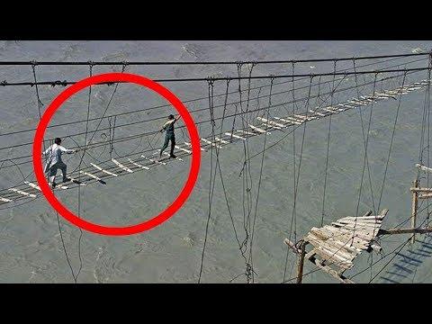 10 Puentes mas Espantosos del Mundo