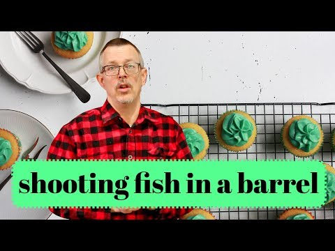 Learn English: Daily Easy English 1221: Shooting Fish In A Barrel