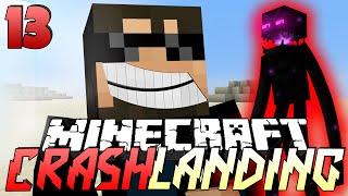 Minecraft Crash Landing 13 - ENDERMAN FARMING