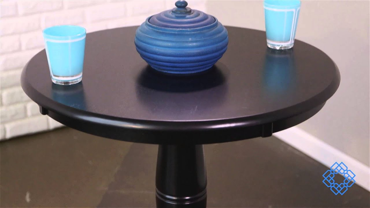International Concepts 30 Inch Round Pedestal Dining Table   Bellacor