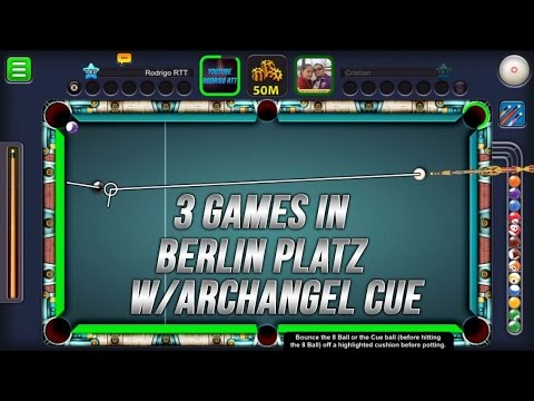 8 Ball Pool - Berlin Platz 50m w/ Archangel Cue