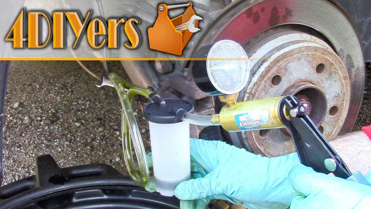 How To Change Brake Fluid >> Diy How To Replace A Vehicle S Brake Fluid