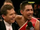 Cotto vs. Margarito post fight interview featuring Chavez