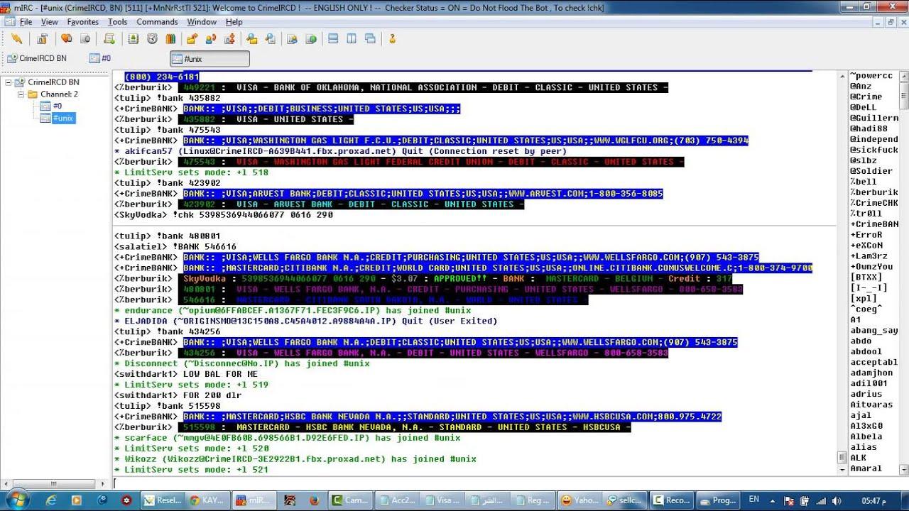 شرح برنامج Mirc وطريقة الشحن علي كايبو في دقايق معدودة ( نسخة أصلية ) HD