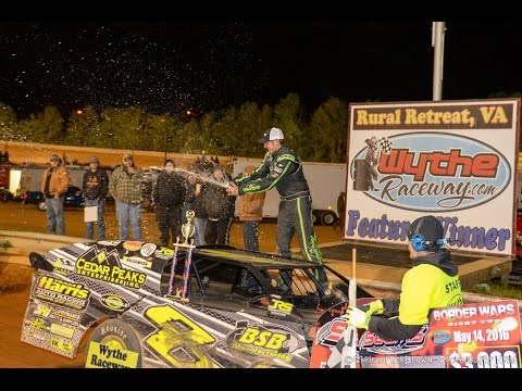 Debut of the South East Dirt Modifieds Race May 14, 2016-Wythe Raceway