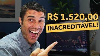 COMO É OPERAR FOREX? LUCRO DE R$ 1.520,00 AO VIVO!