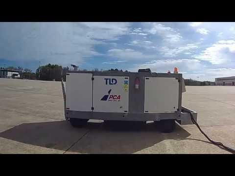 Cummins Powered Ground Power Unit to Power Jet Aircraft
