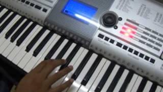 Play in Keyboard - Tamil - Ilamai Oonjalaadugiradhu - Ore Naal Unai Naan Song
