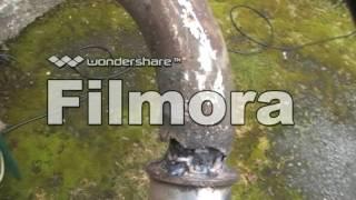 Сварка глушителя мотоцикла.(Created with Wondershare Filmora., 2016-07-03T20:36:57.000Z)