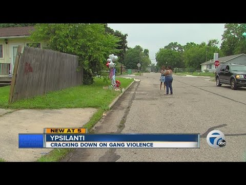 Cracking down on gang violence in Ypsilanti