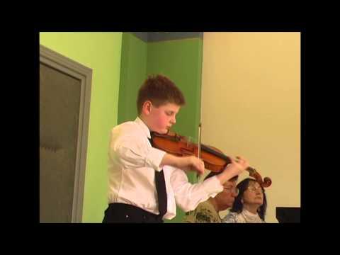 Aram Khachaturian, Sabre Dance, Jan Plasil - violin