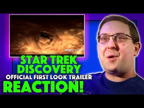 Thumbnail: REACTION! Star Trek: Discovery First Look Trailer - NEW Star Trek Series 2017