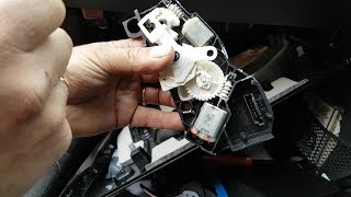 BMW F01/F02 door not locking or unlocking. Fault finding and repair. (Panel removal instructions)