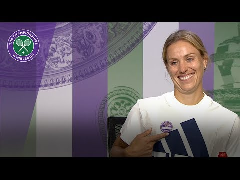 Angelique Kerber 'being aggressive was the key' | Wimbledon 2018