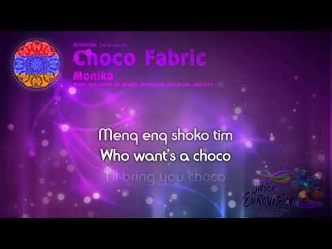"Monika - ""Choco Fabric"" (Armenia) - [Karaoke version]"