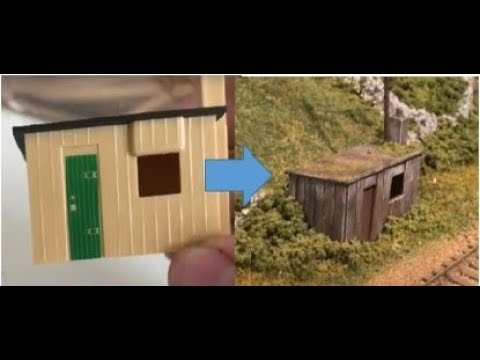 Modelling a Lineside Hut – Model Railway Buildings – Yorkshire Dales Model Railway
