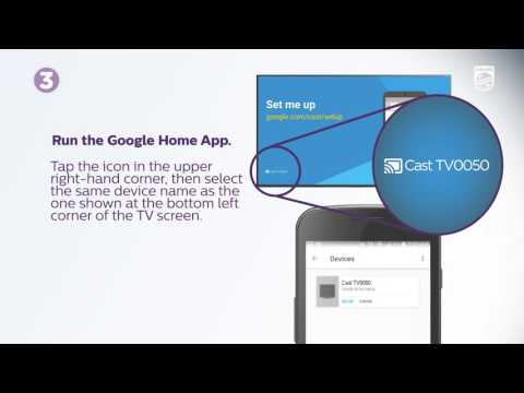 How to setup your Philips Google Cast TV (2016) for first use