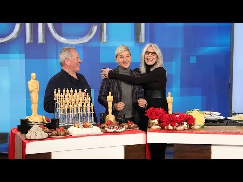 Wolfgang Puck Stirs It Up with Diane Keaton and Ellen