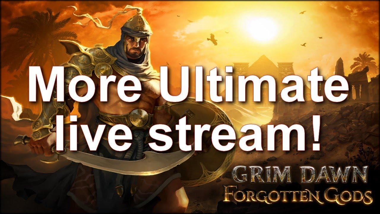 Grim Dawn Forgotten Gods Ultimate lvl 100 exploration!