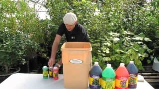 General Hydroponics How-To: Mixing Flora Series