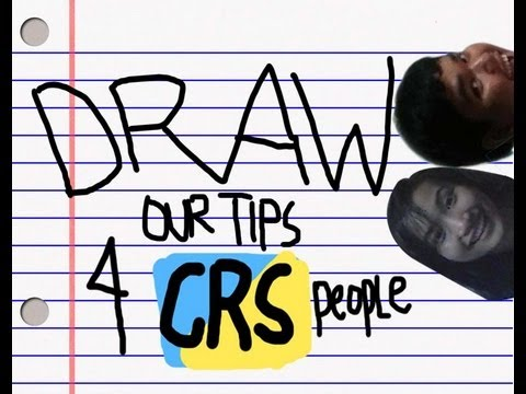 DRAW OUR TIPS FOR CRS PEOPLE